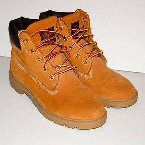 Timberland boots Boys 5 tan